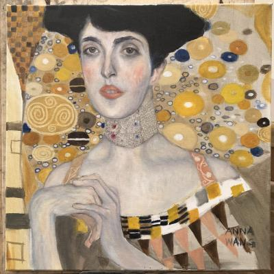 Klimt Portrait Oil Paint