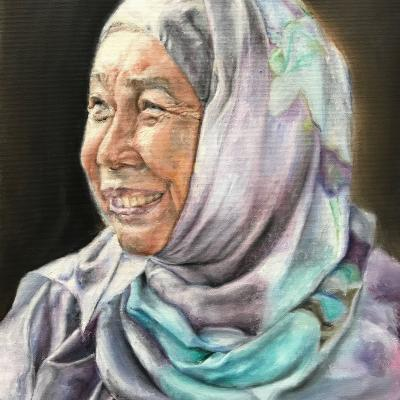 Paint Asiangranny